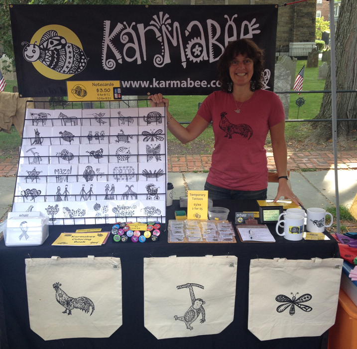 Karmabee Booth